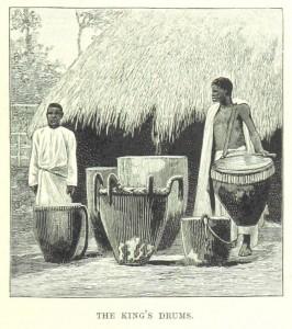 baganda drummers