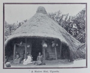 native hut uganda