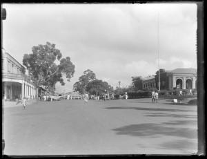 Post office and main street Kampala late 1920's