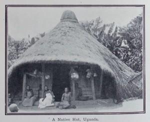 native hut uganda